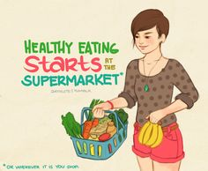 (( Healthy Eating Starts At The Supermarket. ))