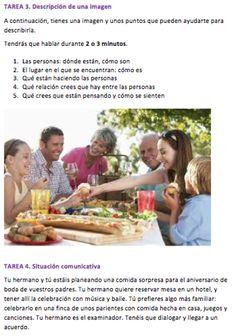 Blog Spanish Lessons Online, Spanish Teaching Resources, Spanish Class, Spanish Food, Examen Oral, Cv Examples, Conversation, English, Education