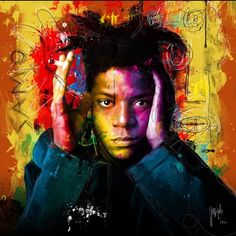 Gone But Not Forgotten.  #Jean-Michel Basquiat #love by lukekellyphoto