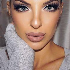 ღ sαℓσмé ∂єsєrτ ღ Beautiful Eyelashes, Septum Ring, Make Up, Rings, Face, Jewelry, Jewlery, Bijoux, Jewerly