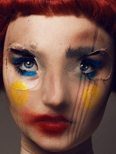 """""""The imperfection, it's the beauty.- """"The imperfection, it's the beauty. Beauty Photography, Portrait Photography, Fashion Photography, Creative Makeup Photography, Distortion Photography, Distortion Art, Photography Aesthetic, Abstract Photography, Portrait Art"""