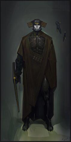 Legendary hunter, Timur Mutsaev on ArtStation at https://www.artstation.com/artwork/d41O3