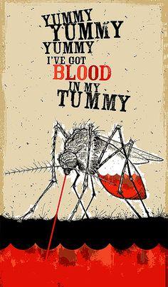 Blood in my tummy