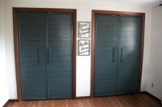 Closets with French Doors