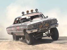 This 1964 Ford Galaxie Baja Racer Is An Incredibly Badass Real-World Mad Max Car