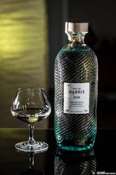 Pure Spirits: Isle of Harris Gin - Galumbi Pure Spirits: Isle of Harris Gin Alcohol Bottles, Liquor Bottles, Vodka Bottle, Whisky, Isle Of Harris Gin, Cocktail Drinks, Alcoholic Drinks, Bottle Packaging, Relaxer