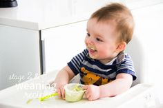 Our Stage 2 & 3 Weaning Guide for babies aged 6-12 months. From six months it is important to introduce texture and offer finger food to your baby. Read our guide to learn which foods to offer your little one at this stage.