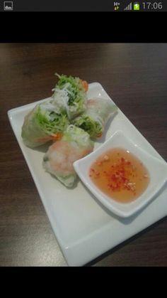 Viet rice rolls