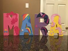 My Little Pony Custom Name Letters price is per letter