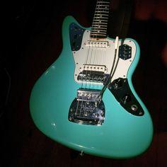 2007 Fender Jaguar 1962 reissue thinskin surf-green