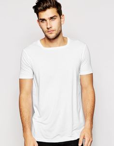 ASOS T-Shirt With Square Neck