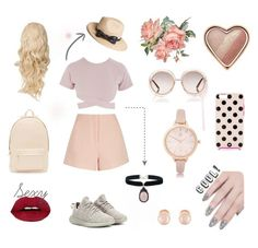 """Chillin' Around with BFFs' !"" by aeren22 on Polyvore featuring Finders Keepers, Chloé, ncLA, PB 0110, River Island, Asilio, Kenneth Jay Lane, The Season Hats, Kate Spade and Rock 'N Rose"