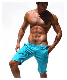 Rufskin Porter Stretch Twill Shorts turqouise  Who's lookin' at the damn shorts?!