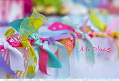 cute garland -a good reason to save small ribbon scraps