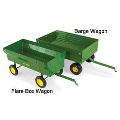 John Deere 1/16 Wagon Assortment