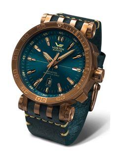 Vostok Europe Energia 2 Bronze Bronze/Blue Watch NH35/575O286 #luxurywatches