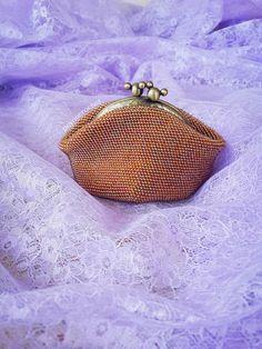 DEYNACROCHET: Beaded purses and cosmetic bags