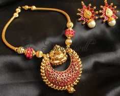 Find wide range of fashion jewellery, imitation, bridal, artificial, beaded and antique jewellery online. Buy imitation jewellery online from designers across India. Call us on [phone] now to resolve your queries. India Jewelry, Temple Jewellery, Gold Jewellery, Antique Jewellery Online, Antique Jewelry, Imitation Jewelry, Simple Jewelry, Jewelry Patterns, Necklace Designs