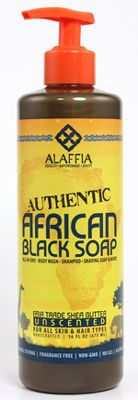 Authentic African Black Soap 16 oz - Unscented || Also in Whole Foods for a dollar cheaper. Any product that has multiple uses is a friend of mine. It can be used as shampoo, shave cream, body wash, face wash. Can't wait to purchase.