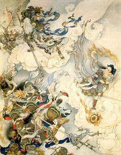 """Liu Jiyou """"Monkey King"""" fights with Nezha"""