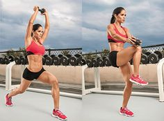 Hardcore Waist Whittlers - Show off your six-pack and send your metabolism soaring with this serious ab routine, demonstrated by IFBB bikini pro Michelle Lewin