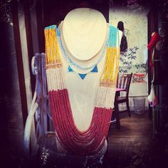 Court St. necklace display