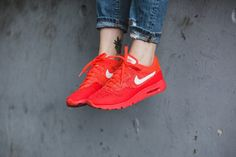 f742b30d1c3b9 Buy the latest fashion Nike Air Max 1 Ultra Flyknit Bright Crimson University  Red Bright Mango White Women s Shoes to enjoy the Cheapest price.