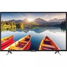 "32"" LCD LED Smart HDTV 720p WIFI enabled 3 HDMI Ports Wall Mountable Slim Bezel #Hitachi"