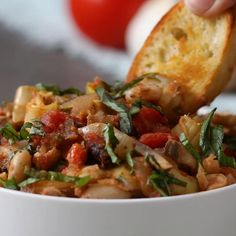 Tuscan White Beans Recipe by Tasty