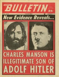 Charles Hitler   Finally it all started making sense as the puzzling pieces of evidence had fallen into place