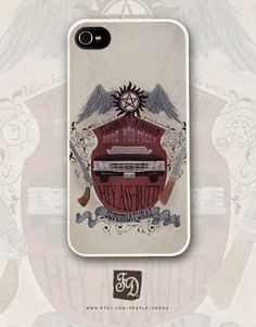 Iphone 4/4s case  Supernatural Sam and Dean by FeerieDoll on Etsy #supernatural