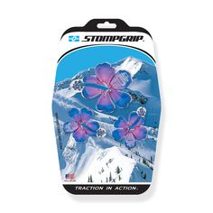 e606e4f9d4e Stompgrip s Hibiscus Stomp Pads are custom molded in a unique 3D design to  provide the highest