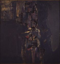 Muñoz, Lucio: Abimelech Lucio Muñoz paintings, plastic arts, visual arts, fine arts, abstract