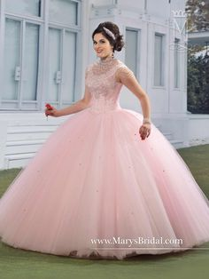 Mary's Bridal Princess Collection Quinceanera Dress Style 4Q961