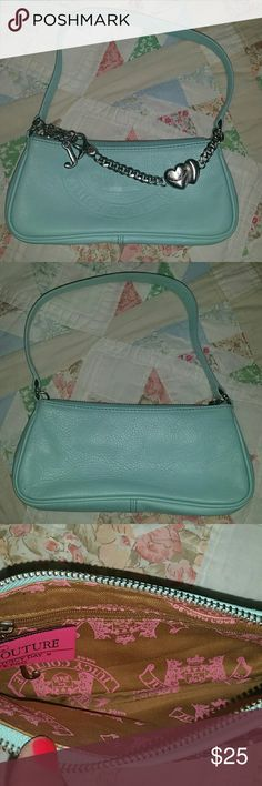Juicy couture clutch Uber cute, exellent condition. Juicy Couture Bags Clutches & Wristlets