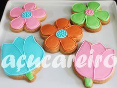 Biscoitos Flores!