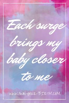 www.own-your-birth.com #HypnoBirthing #childbirth #pregnancy #calm #labor #affirmations #naturalbirth