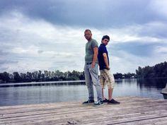 Io e il mio socio all'Hyppokampos