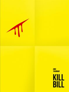 Kill Bill: Vol. 1 (2003) ~ Minimal Movie Poster by Vitaly Zaharoff #amusementphile