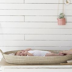 Reva Oval Basket - Baby Changing Tray