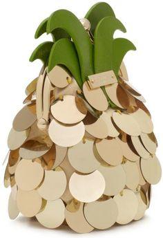 pineapple + sequin [Kate Spade coin purse]