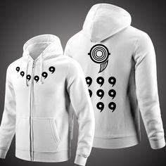 Naruto Jacket Winter Men Thick Zipper Hoodie Sweatshirts   Mopixie Store