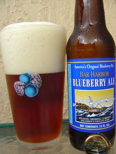 atlantic brewing co. blueberry ale