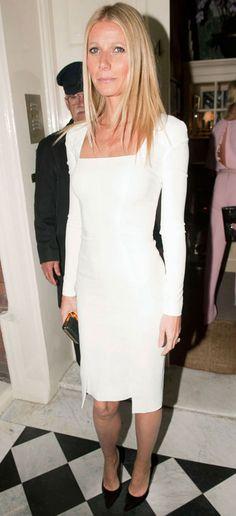 Gwyneth Paltrow in Tom Ford // London FW