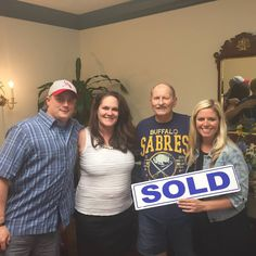 Today we celebrated an exciting closing with the Rich! Thanks to Crystal Remmel for sending her father-in-law our way! Congratulations on your new home! :) Courtesy of www.BethMcGeorge.com #BethSellsJC #JenSellsJC #handshakesandhugs