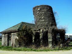 Abandoned Farm House & Water tower, Riverhead NY