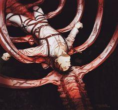 Eren Jaeger - Attack on Titan - Shingeki no Kyojin - By Monai