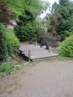 Small bridge at Harrison Park in London