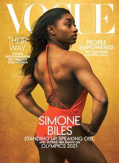 Simone Biles, Vogue Magazine Covers, Vogue Covers, Beautiful Black Girl, Black Love, Beautiful Women, Black Girls Rock, Black Girl Magic, American Gymnastics