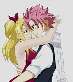 fairy tail couples | lucy natsu f couple - fairy tail - rina lise winry - Photos - Club ...